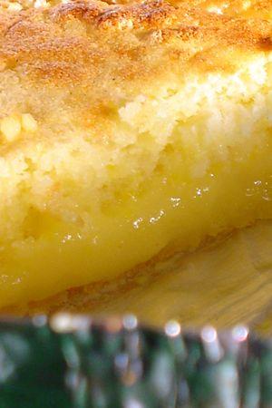 gâteau magique au citron lemon curd