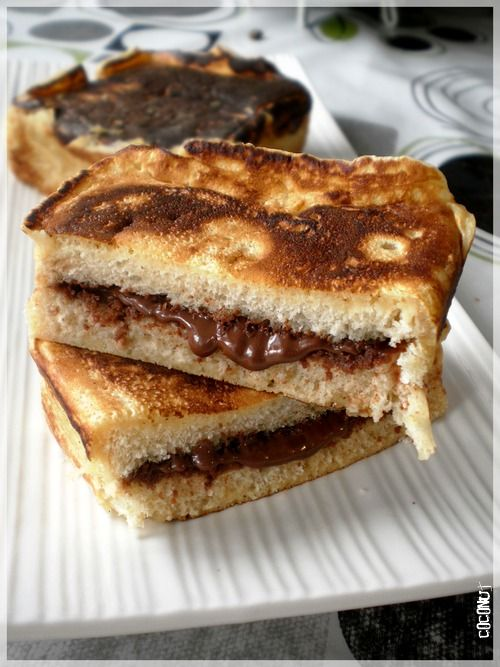 pain perdu fa on pancake fourr au nutella blog. Black Bedroom Furniture Sets. Home Design Ideas