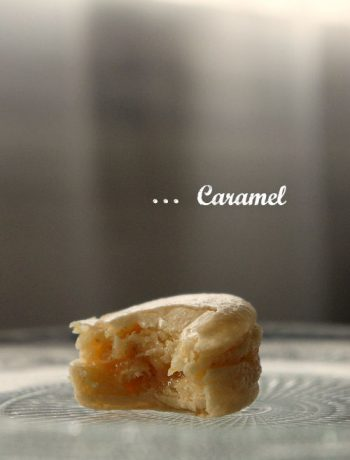 macaron au caramel et beurre salé