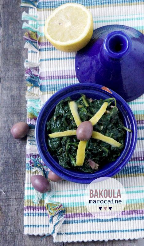 salade-bakoula-marocaine-recette-facile