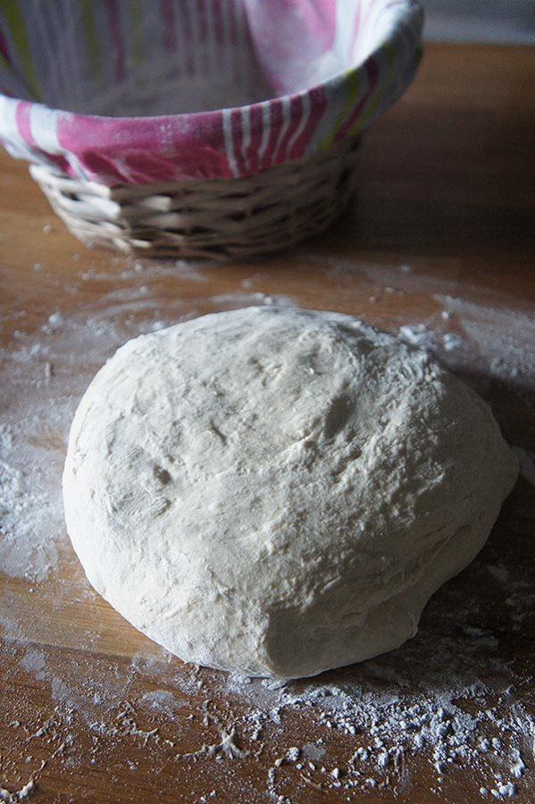 façonnage du pain au levain