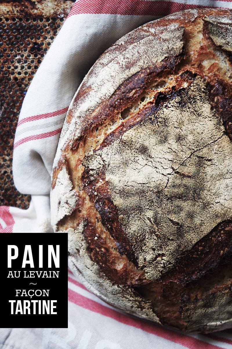 Pain Tartine Au Levain Naturel Blog Coconut Cuisine