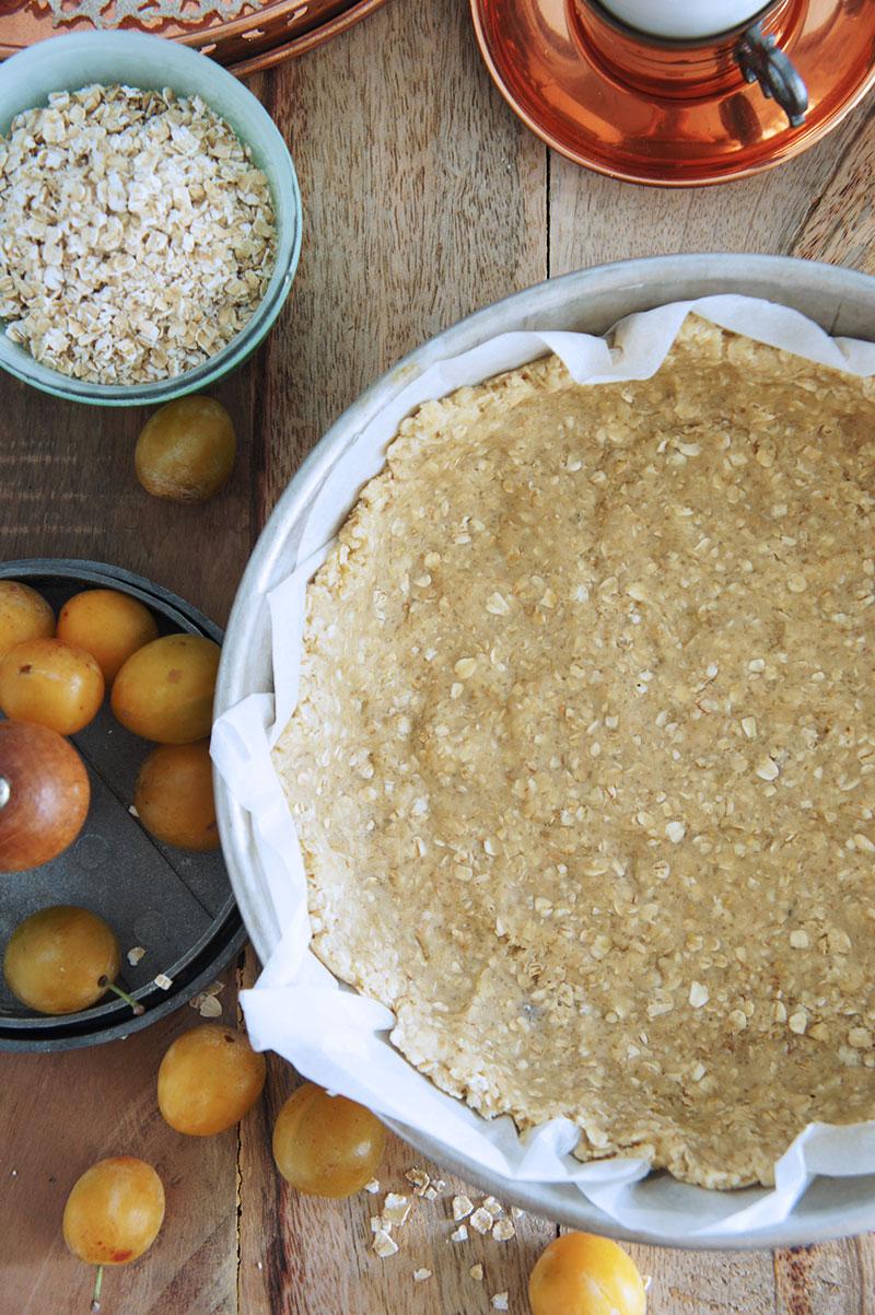 Pâte à tarte aux Flocons d'avoine - Recette à l'ancienne