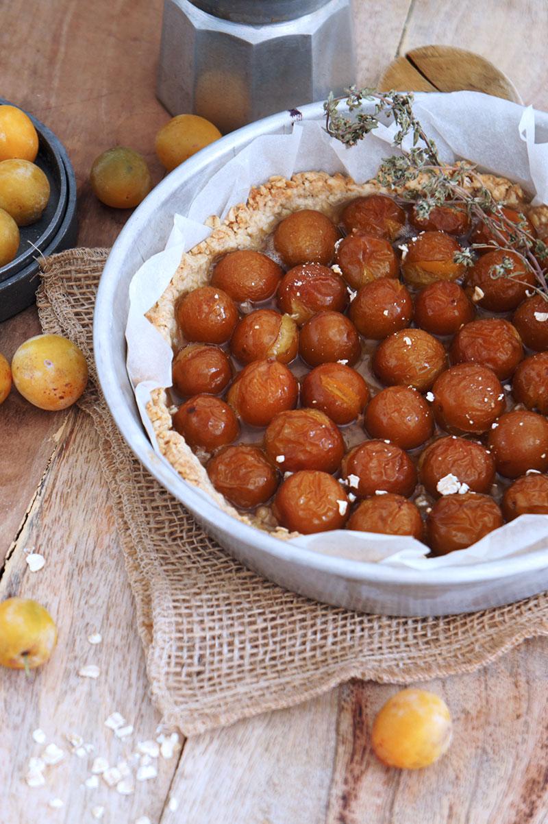 tarte rustique à la mirabelle recette facile
