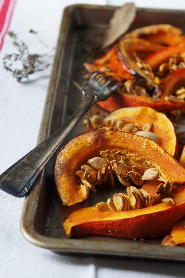 Recette du potimarron rôti et caramélisé au four