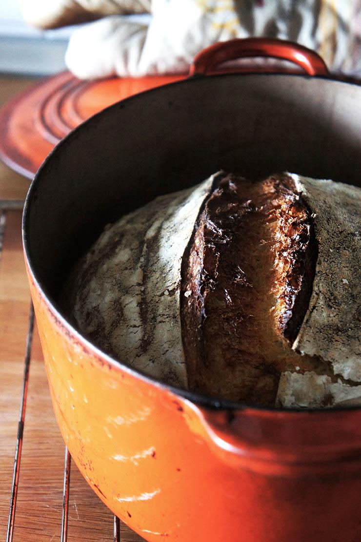 pourquoi cuire son pain en cocotte