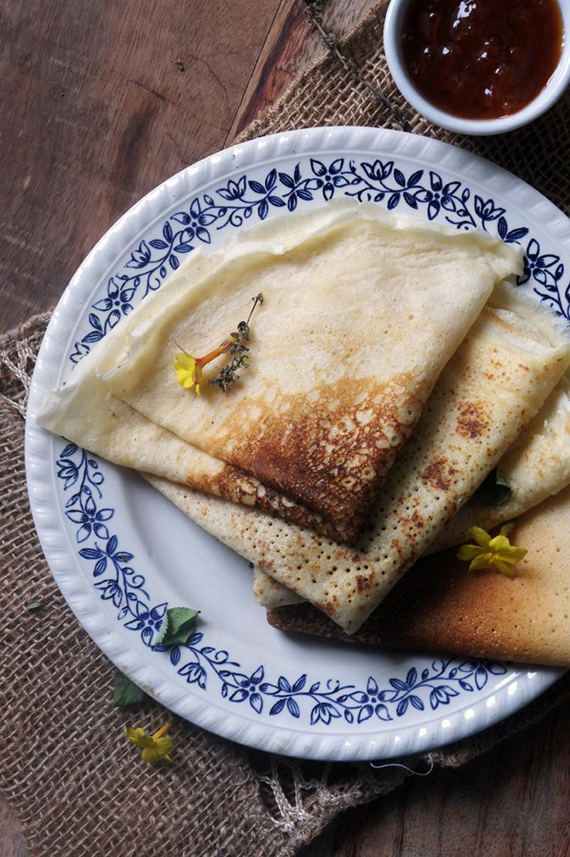 recette de pâte à crêpe fermentée au levain