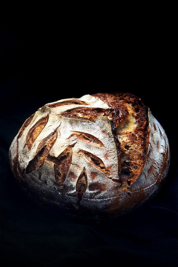 pain zébré au levain