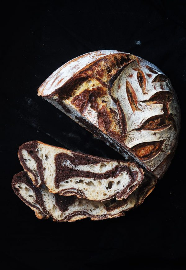 sourdough zebra bread