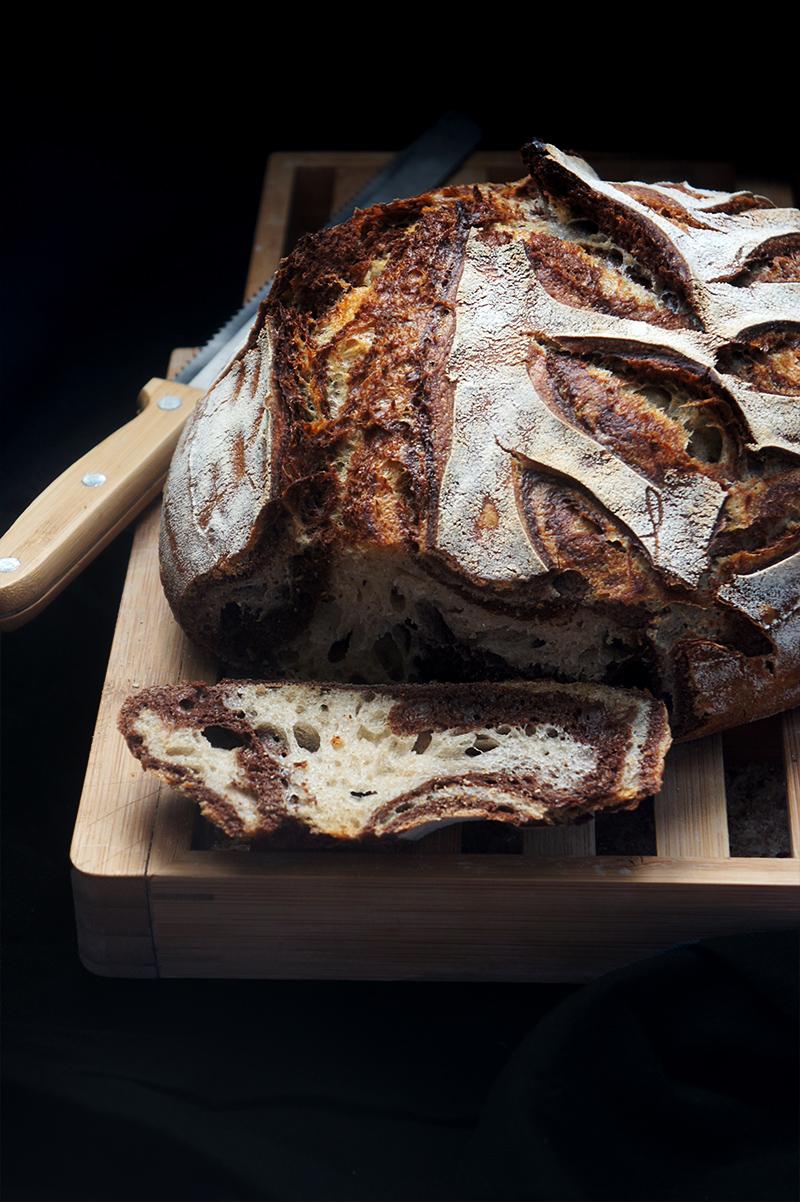 pain zébré recette facile zebra bread