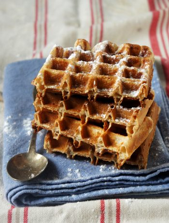 recette de gaufres sans beurre croustillantes