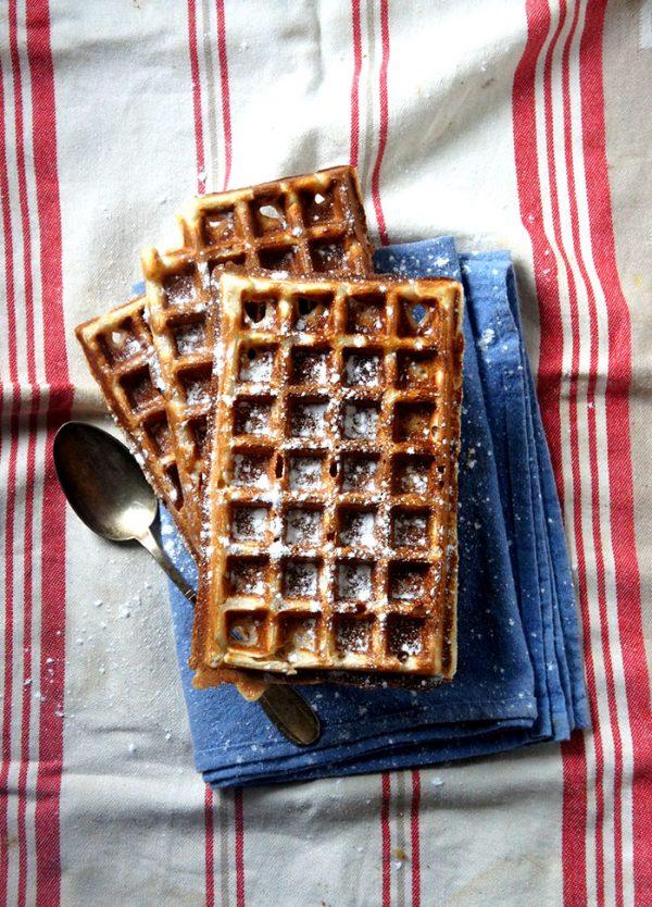 recette de gaufres light sans beurre levain