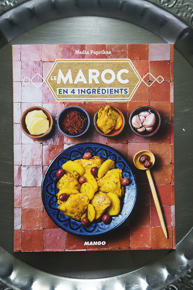 livre le maroc en 4 ingr dients et harcha blog coconut cuisine foodisterie home made. Black Bedroom Furniture Sets. Home Design Ideas