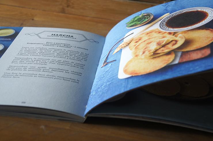 recette harcha galettes de semoule facile