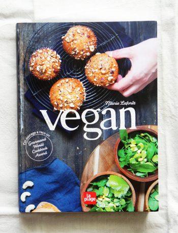 """présentation du livre """"vegan"""" de marie laforêt"""