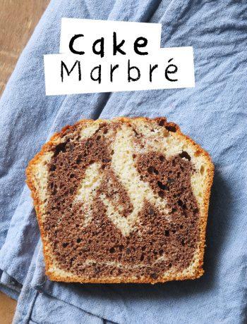 recette du cake marbré façon savane