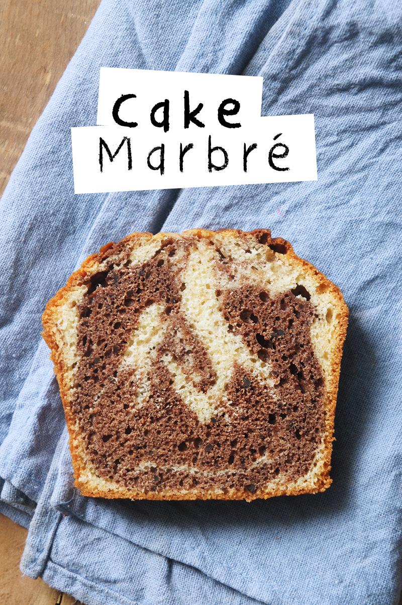Recette Facile Cake Marbr Ef Bf Bd