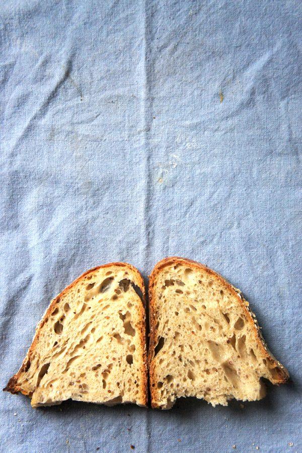 recette du pain à la moutarde à l'ancienne et levain