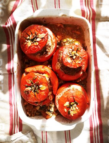 tomates farcies healthy