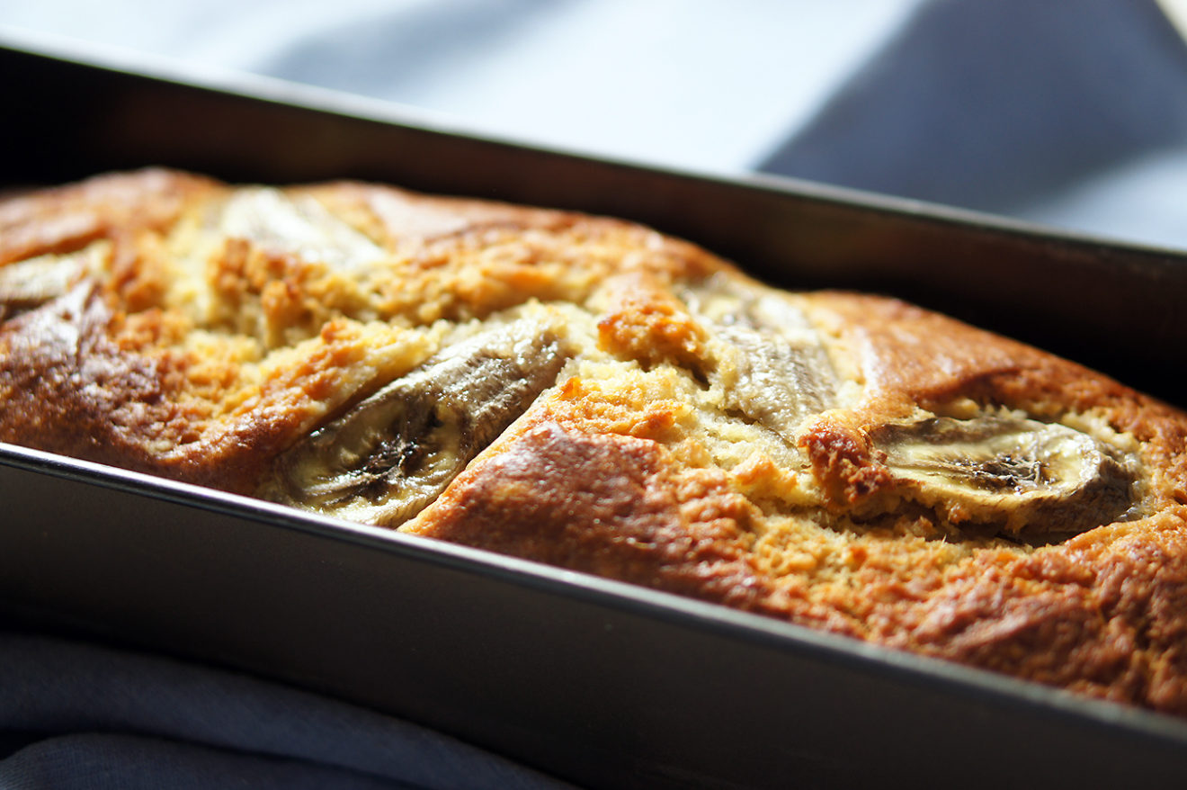 Banana bread au levain