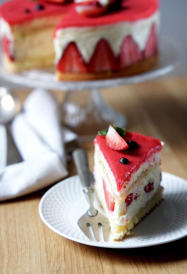 fraisier fait maison