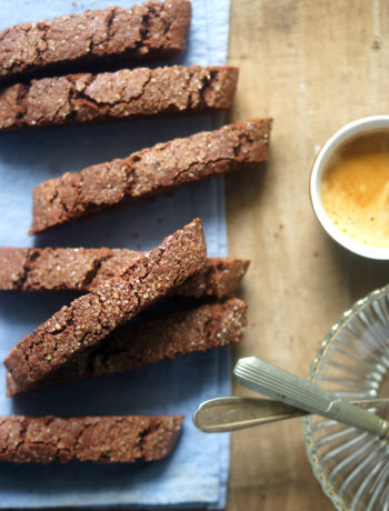 recette de biscotti au cacao chocolat