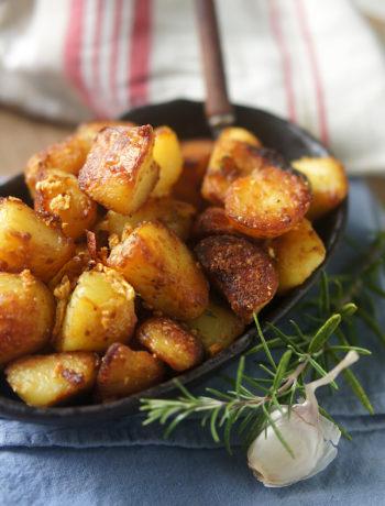 recette pomme de terre roties croustillantes