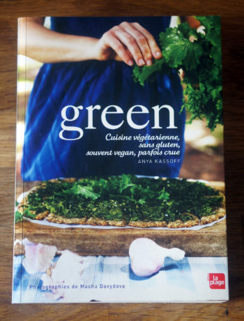 livre green anya kassoff présentation
