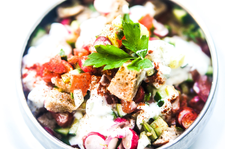 salade fattoush recette jérusalem sami tamimi