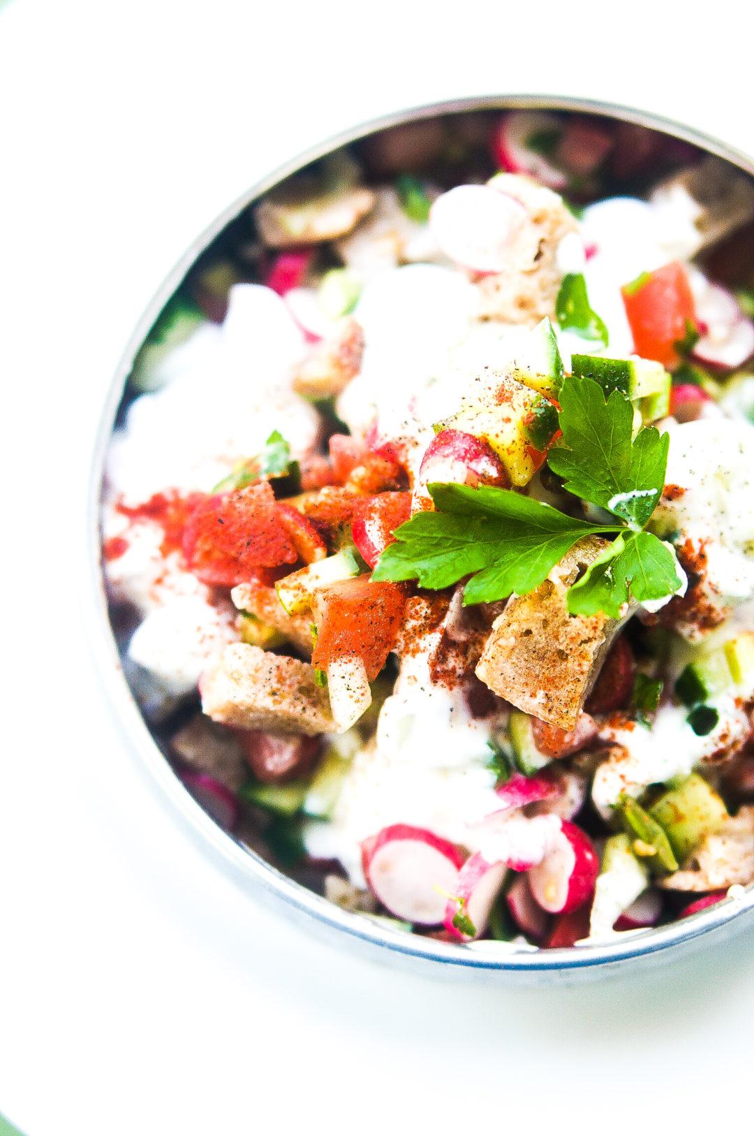 salade fattoush sami tamimi