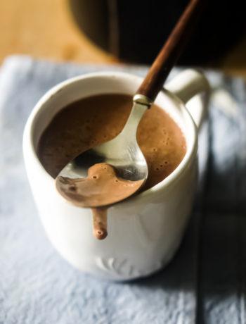 chocolat chaud épais à l'italienne