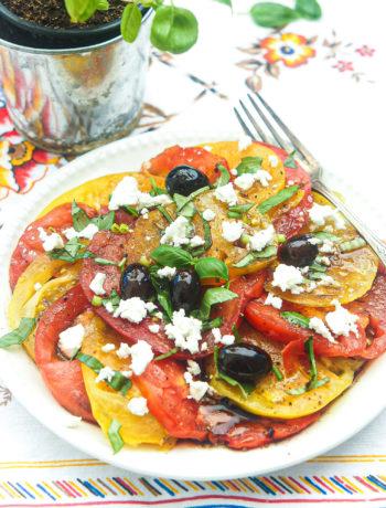 meilleure salade tomate mozzarella