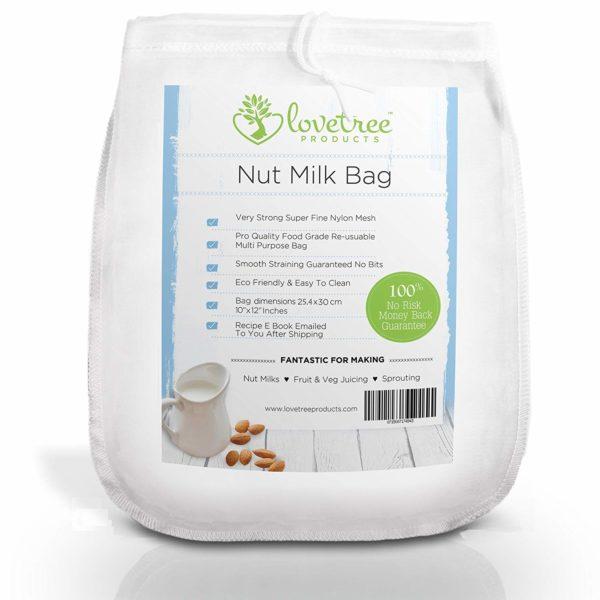 sac à lait nylon pas cher