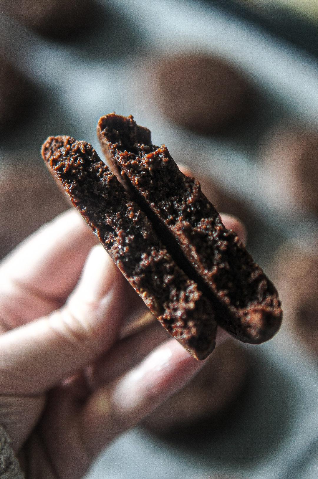 cookies healthy chocolat noix recette