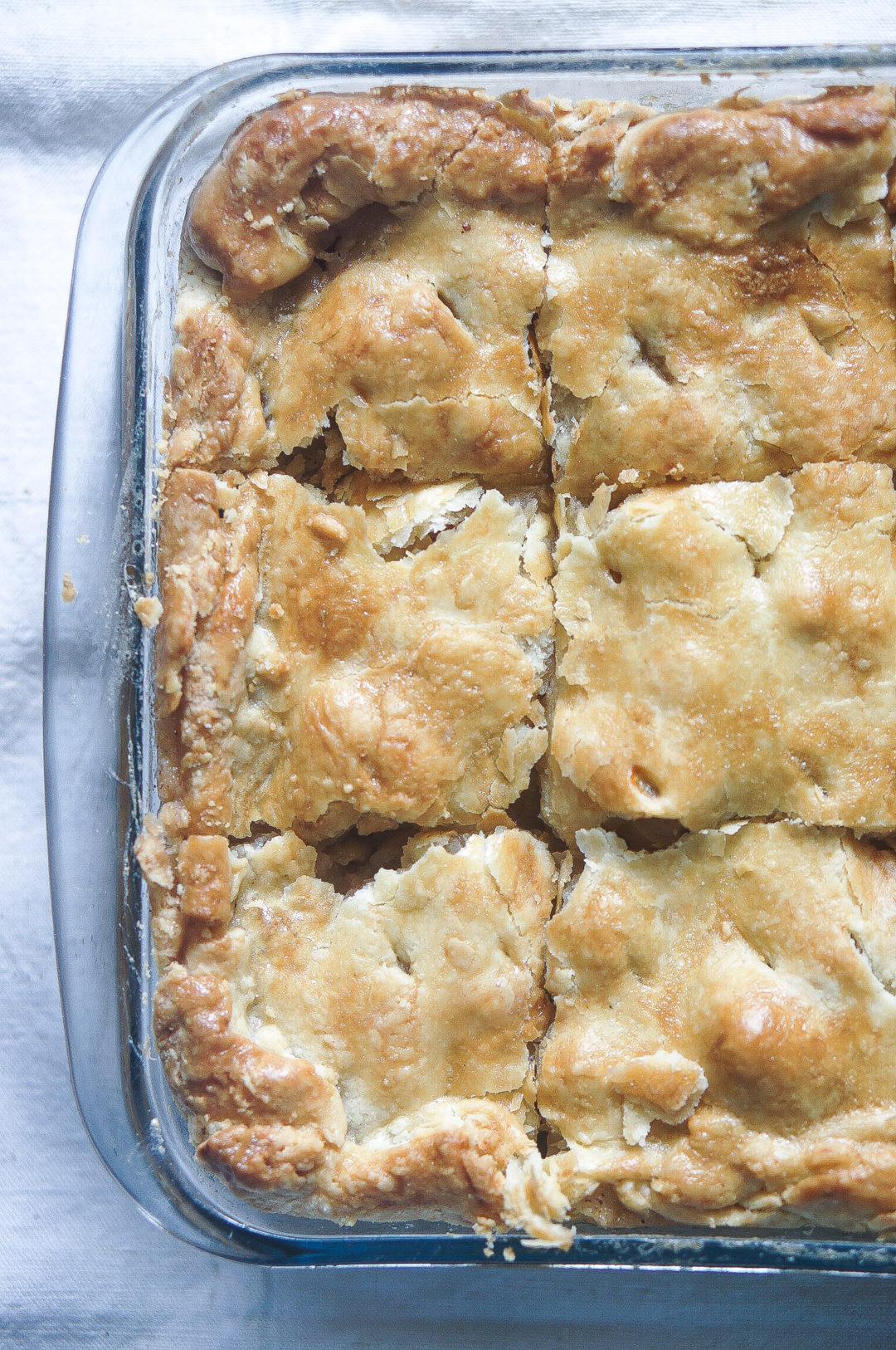 tarte aux pommes américaine
